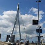 Ponte Erasmus, Roterdão.