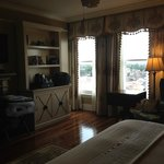 Room, looking toward windows.
