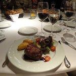 Mesa jantar - Prato principal