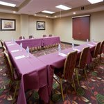 Host a small meeting or event in our flexible meeting space. Which accomodates up to 40 guests.