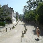 The streets of Montmartre
