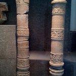 Délicates colonnes sculptées de la culture Cham