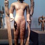 Superbe statue Cham