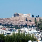The Acropolis from the Club Lounge balcony