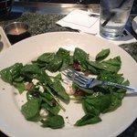 Amazing spinach salad