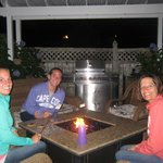Fun and S'mores at the Fire Pit
