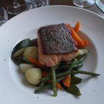 Salmon With Roasted Vegetables