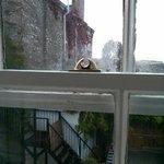Broken sash window