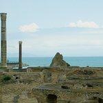 Rovine di Cartagine: Tunisia: le terme