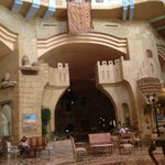 Part of the Aladdin Style Lobby Area