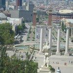 Visual aberto da Praça Espanha