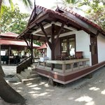The best bungalow location of First Bungalow Beach Resort