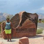 Moi au red rock canyon
