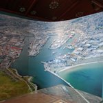 Giant photo of Aberdeen harbour