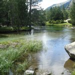 Remansos del rio en planell d'Aiguestortes