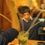 Bucket mojito at the next table