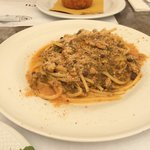 pâtes aux sardines et pignons