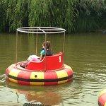 Bumper boats £5.