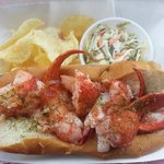 Linda Bean's lobster roll