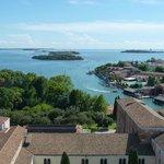 View towards San Servolo