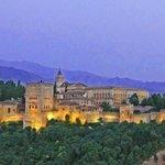 Alhambra am Abend