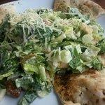 Cesar Salad with flatbread
