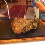 Fiorentina al ristorante di villasapaolo lampolla