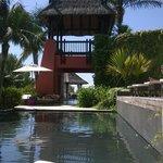 Ambiente das piscinas centrais