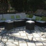 mobilier de la piscine