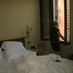 de kamer: een junior suite...