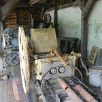 Old mechanical equipment