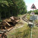 Old railway siding