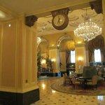 Gorgeous lobby area