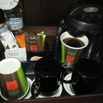 Great in-room coffee and tea