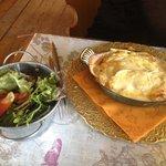 Tartiflette a la tome des Pyrénées