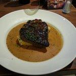 Rump steak main course