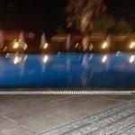 aan de poolbar s'avonds