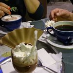 Pyszna kawa w Olimpiada Einkaufcentrum