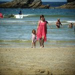 lovely little local beach in Porth
