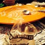 Clam chowder is GONE!!!