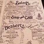 menu, page two