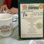 Moody's dessert menu