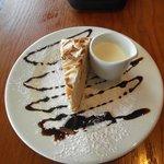 Caramel Torte Dessert With Cream