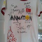 Animation Team signatures