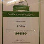 Certificado pelo TripAdvisor