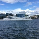 View of the Oslo Opera House Across the Water