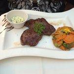 Garlic Steak and veggies