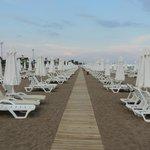 Beach Area at Barut Lara Resort Hotel