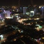 vue du dernier étage, côté opposé aux tours Petronas