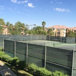 Kids loved the tennis court and basketball courts